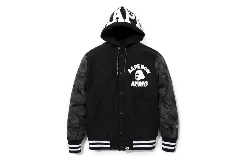 fafcc9d620e4 AAPE by A Bathing Ape x Champion 2014 Capsule Collection