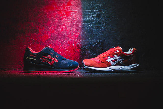 """ASICS 2014 Valentine's Day """"Lovers & Haters"""" Pack"""