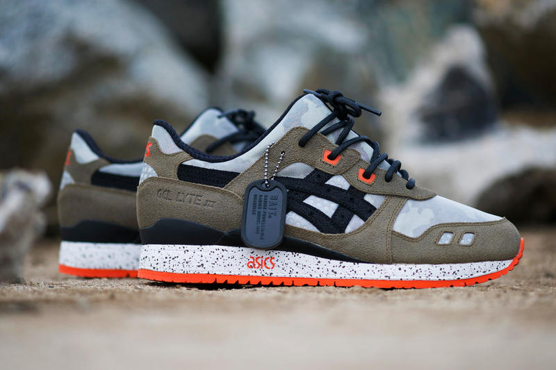 """0385b0d18e1a7 After bringing you a preview of the BAIT x ASICS Gel Lyte III """"Basics Model-002  Guardian,"""" we've"""