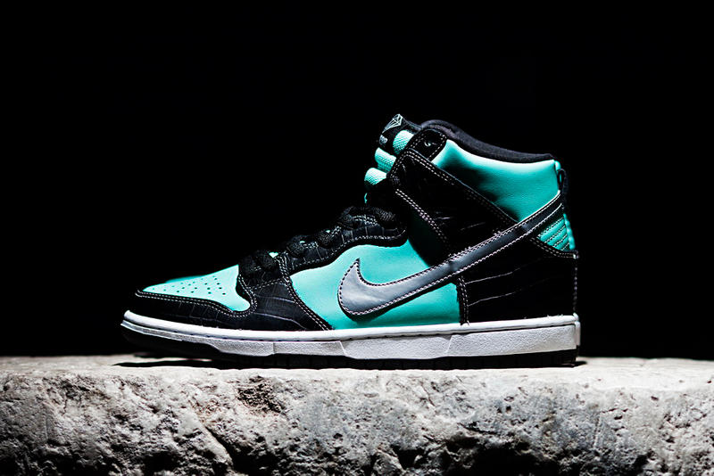 "356a53bda442 Following the official confirmation of the Diamond Supply Co. x Nike SB  Dunk High ""Tiffany"