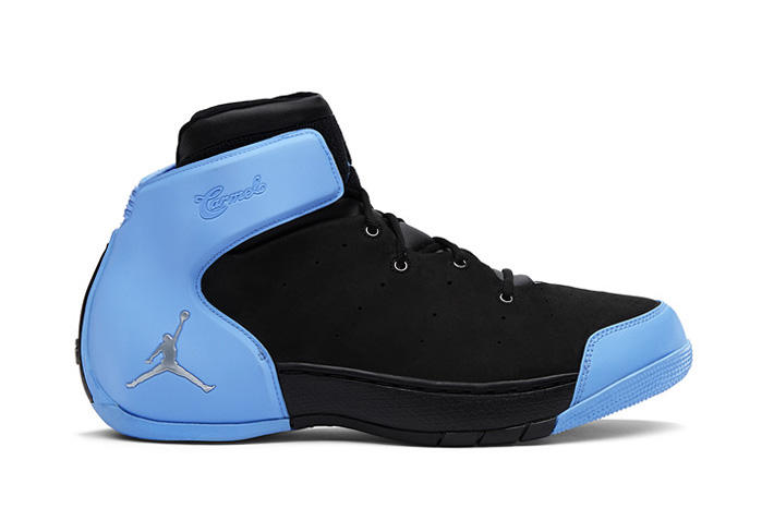 3026dcd562269f ... 1.5 Retro Black Metallic Silver-University Blue. As Jordan Brand  celebrates a decade of Carmelo Anthony s signature kicks with the release  of the