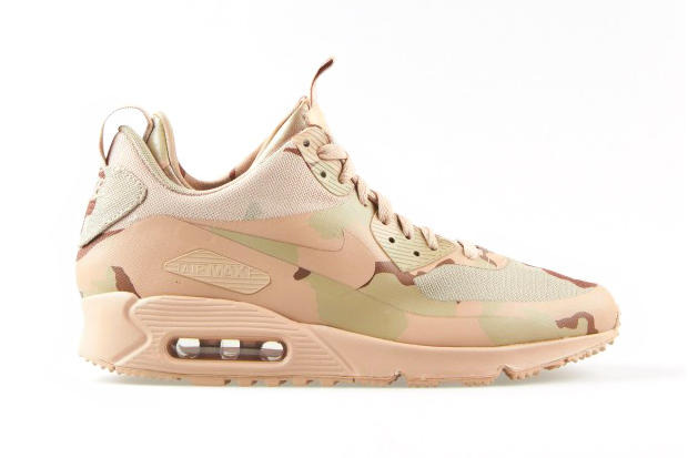 """new style fb09a 1ed98 Nike Air Max 90 Sneakerboot MC SP Desert Camo. Continuing the theme from  its """"Country Camo"""" pack, Nike has given its recently introduced Nike Air"""