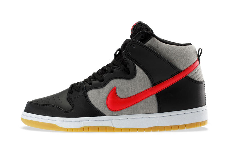 cheaper 5a0b9 b0e45 New from Nike s skateboarding camp comes an athletic take on the Dunk High  Pro silhouette. The