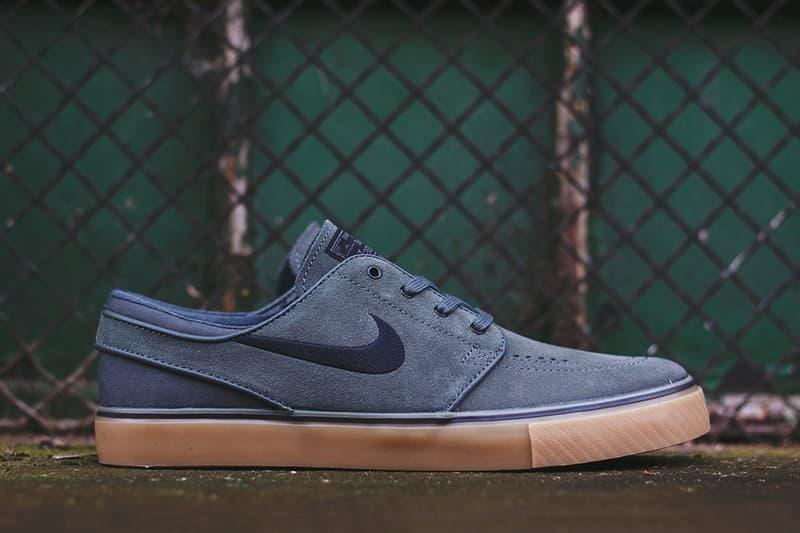 Nike SB Zoom Stefan Janoski Dark Base Grey Black-Gum  9fe46fcdf