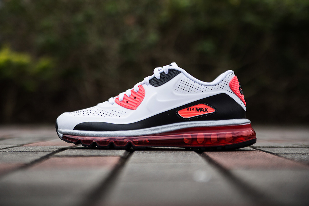 """postre deseo Asistencia  A Closer Look at the Nike Air Max 90-2014 """"Infrared"""" 