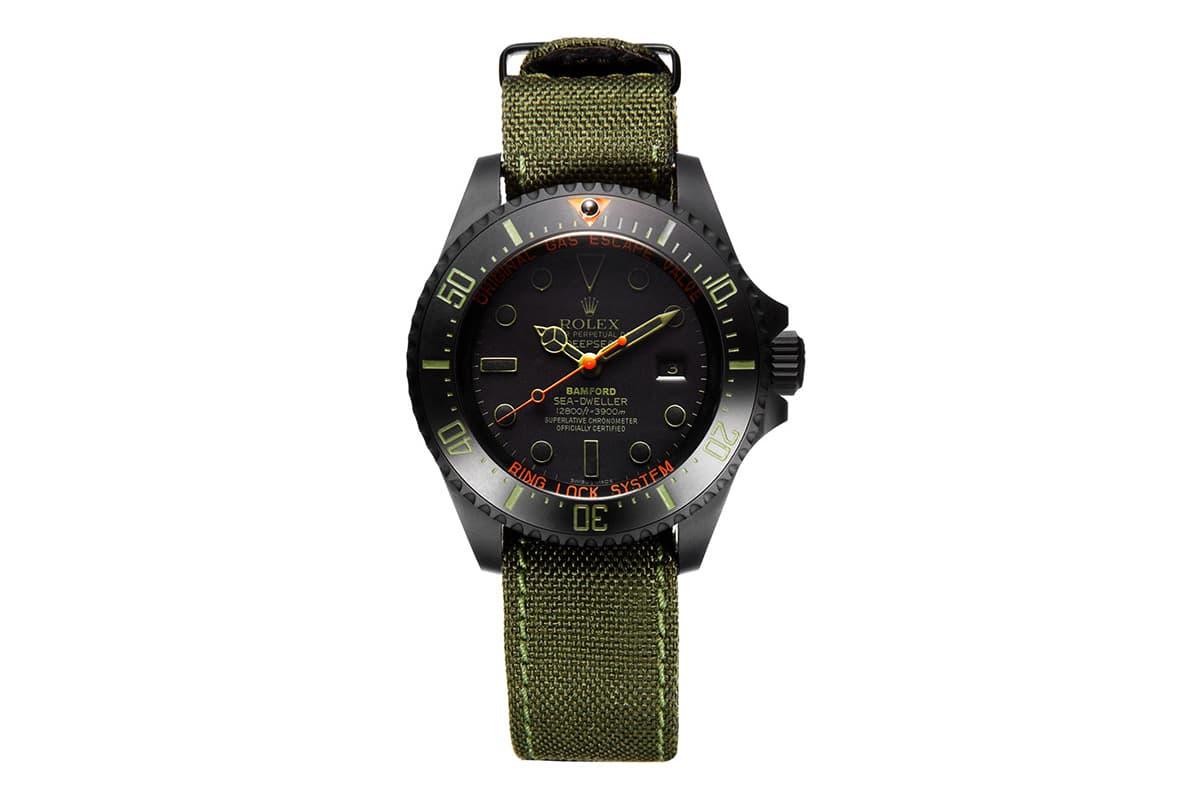 """Bamford Watch Department Rolex Deepsea """"Military"""""""