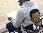"Bodega x Granted ""Malcolm X"" Wool Sweater"