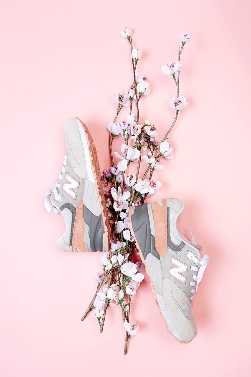 new balance 999 cherry blossom hong kong