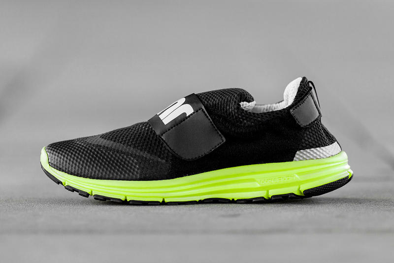 low priced 87c5b 9e0ec Blending modern technology with classic motifs, Nike presents the LunarFly  306 in black, silver and