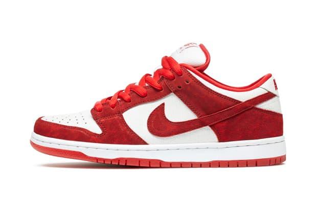 Nike Sb Dunk Low Premium Valentine S Day Hypebeast