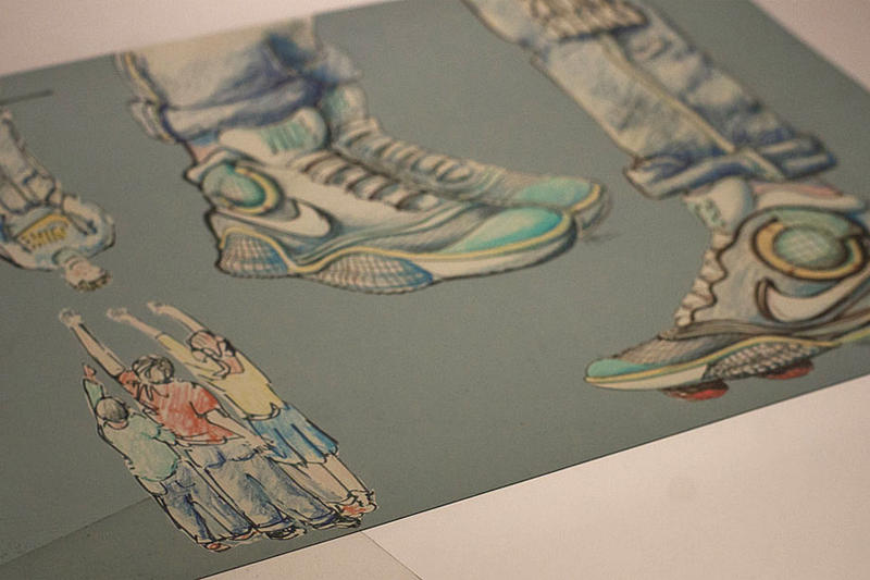 """Tinker Hatfield Foreshadows """"Power Laces"""" in 2015"""