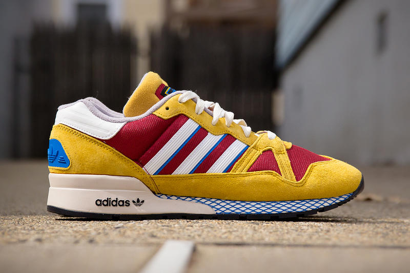 378dbc3e9195 Getting a decidedly retro color combo is the latest edition the ZX 710 from adidas  Originals.