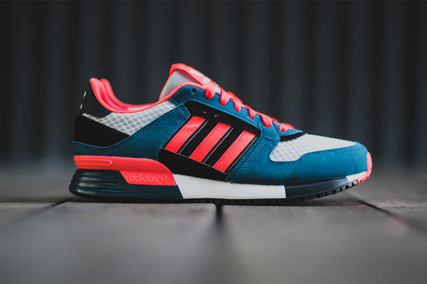 low priced 0887f 6fbf4 adidas Originals presents a bold new colorway for the ZX 630 silhouette.  Appearing with a base of