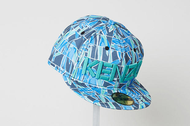 56c6ef02608 KENZO and New Era present their Spring Summer 2014 collection of  collaborative caps. Inspired by