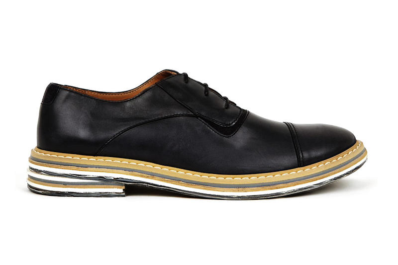 f17fc4e3c89 Fashion house Maison Martin Margiela presents the Black Marble Sole Derby  Shoe from its