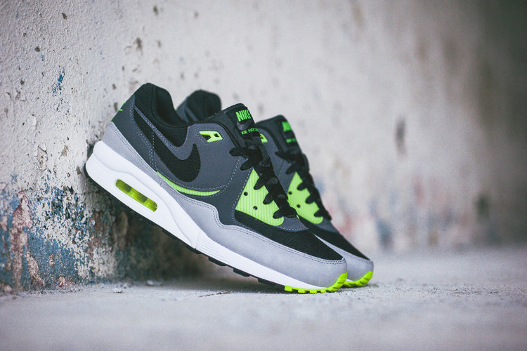 hot sale online 802be ee56b Nike Air Max Light Essential BlackDark Grey-Volt