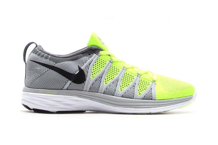 check out adcbc ae634 Nike Flyknit Lunar2 Volt Black-Wolf Grey-Dark Grey. Following this spring s  initial launch of the Nike Flyknit Lunar2 comes a number of brand new