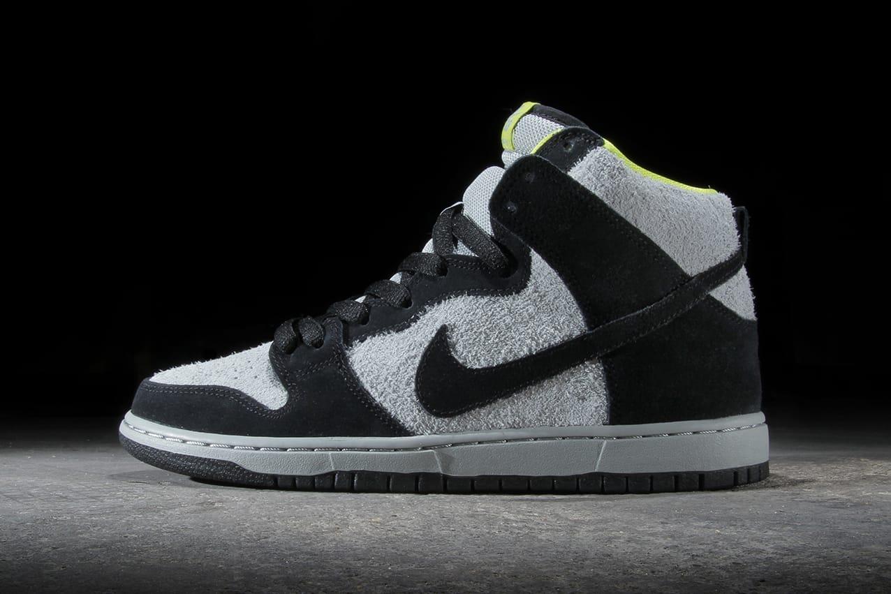 Nike SB Dunk High Pro Black/Base Grey
