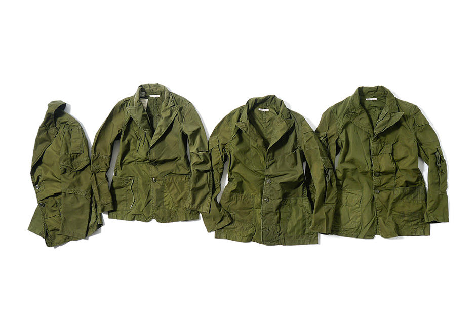 Rebuild by Needles: 2014 Spring/Summer Outerwear & Flannels