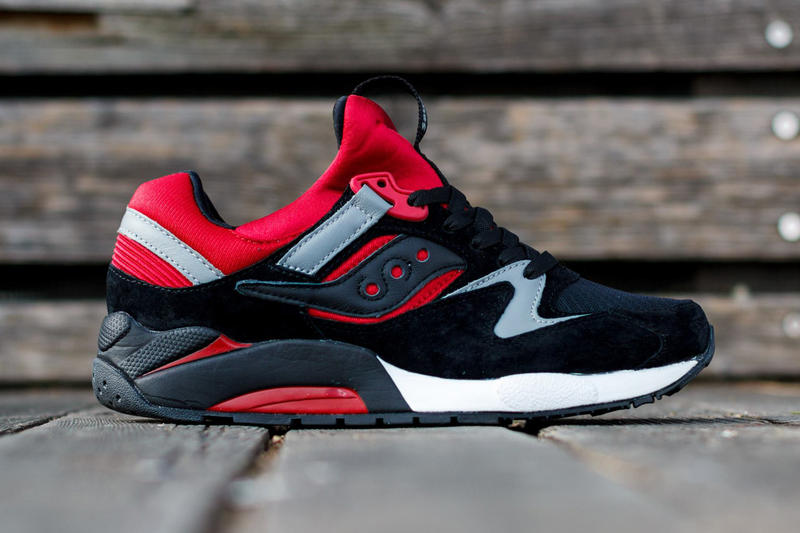 1d67c54f Saucony Grid 9000 Black/Red   HYPEBEAST