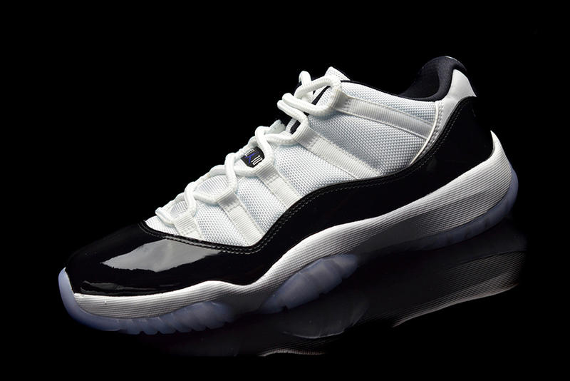 """f503bd02e143ea A First Look at the Air Jordan 11 Low """"Concord"""""""