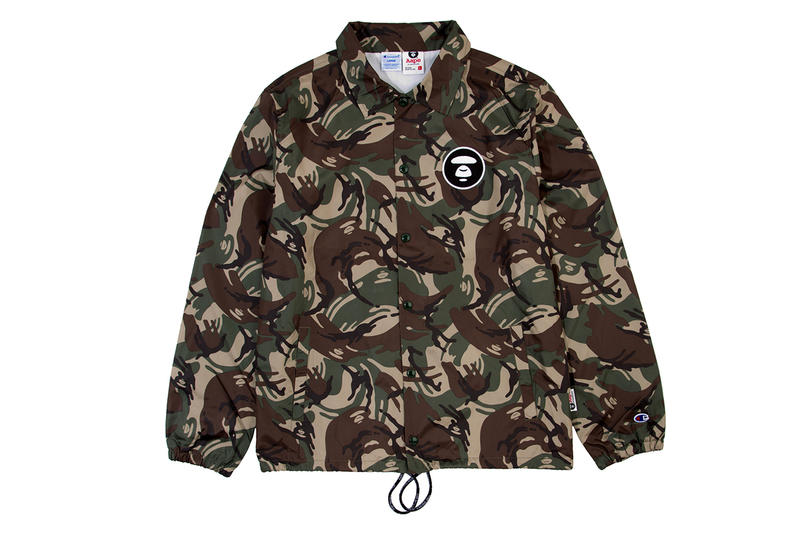 e90551d58942 AAPE by A Bathing Ape x Champion 2014 Spring Summer Collection ...