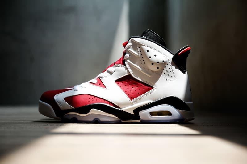"sports shoes 7a55a cd853 Air Jordan 6 Retro ""Carmine"" | HYPEBEAST"