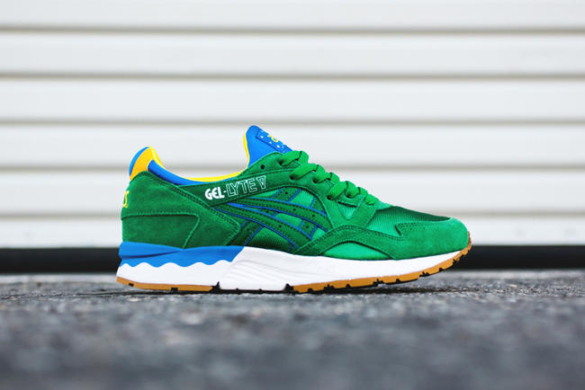 "ASICS Gel Lyte V ""Brazil"". With the 2014 FIFA World Cup Brazil just around  the corner 49de2b613e"