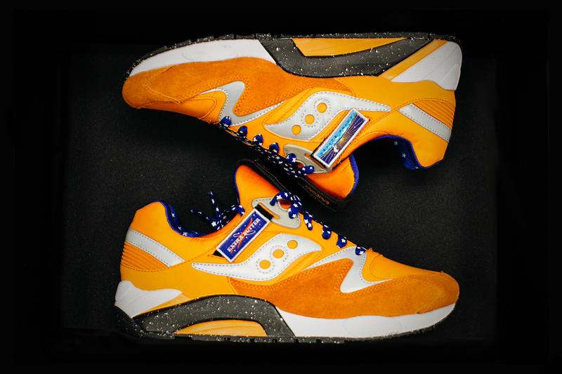 ee3a55301 A First Look at the Extra Butter x Saucony Grid 9000