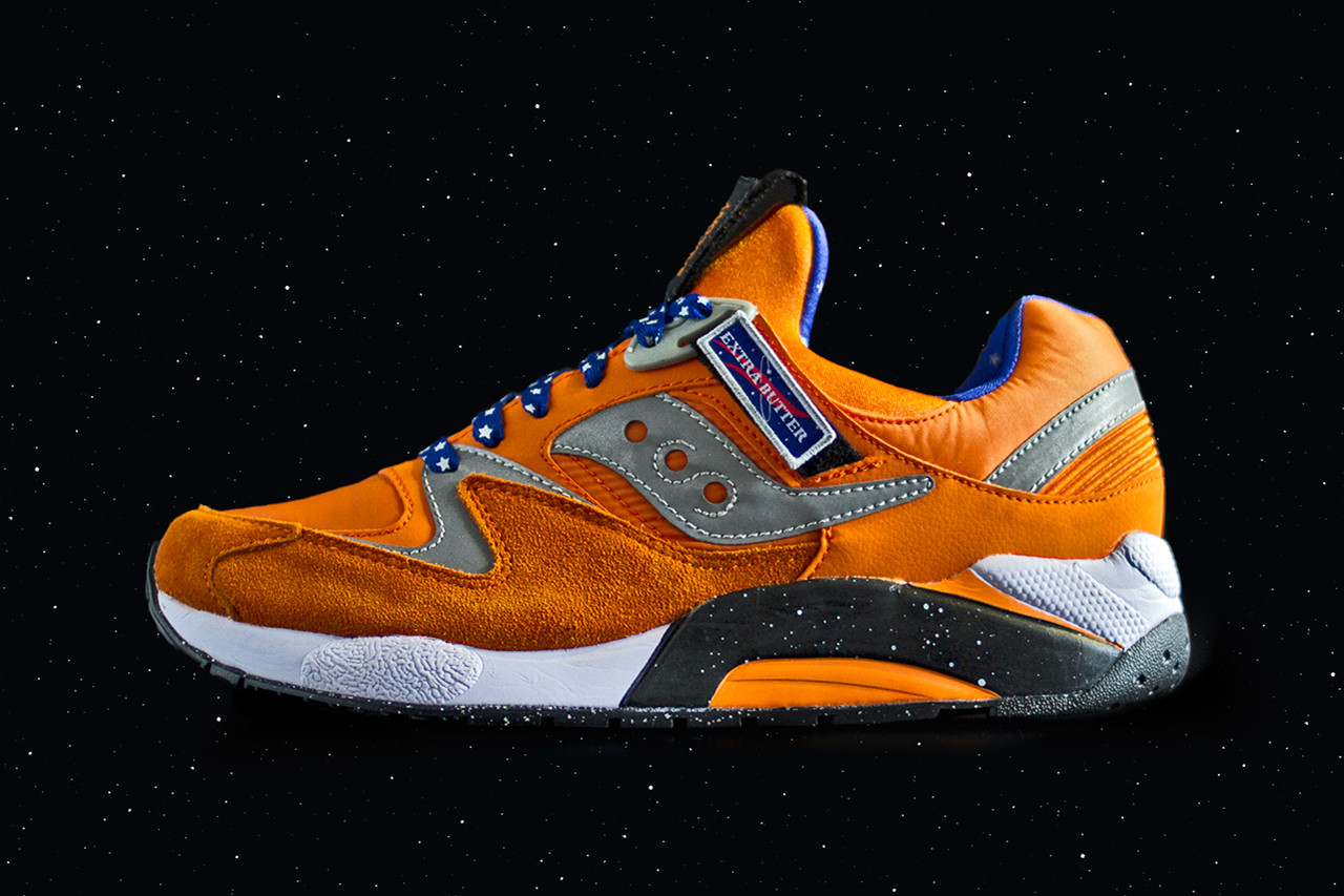 Extra Butter x Saucony Grid 9000 \