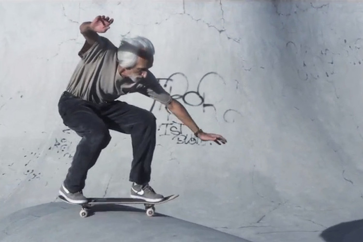 db25b550f827f7 A Short Profile of 60-Year-Old Skateboarder Neal