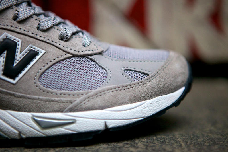 purchase cheap 8eca1 2bb16 New Balance revisits its heritage with an updated premium Made in USA M991GB.  Appearing in a subtle