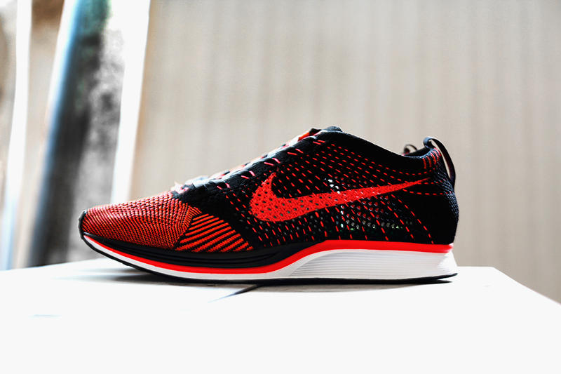 buy popular b6117 63867 Nike updates the Flyknit Racer with two new colorways slated for a summer  2014 release. Those
