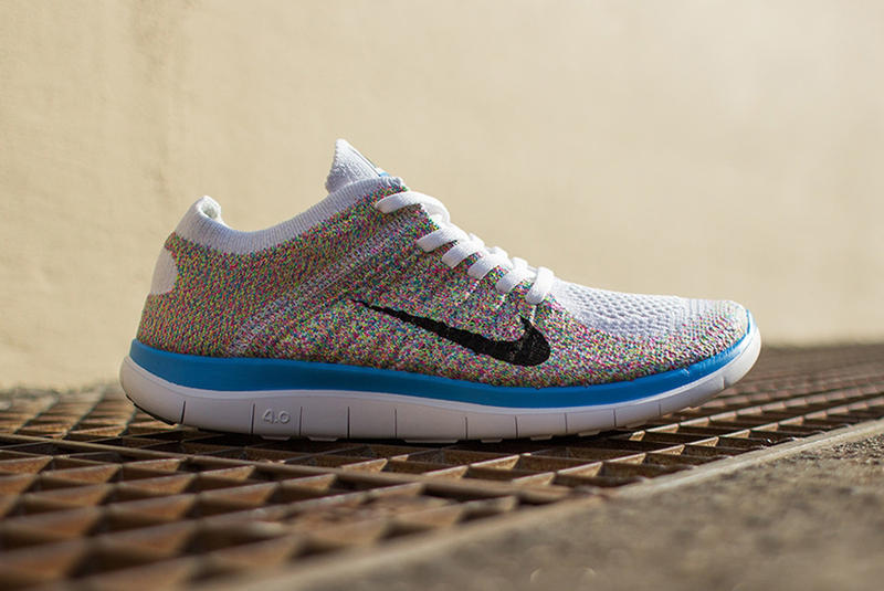 best cheap 00a72 62f3a We recently featured the new Free 4.0 Flyknit, now Nike has worked up a  bold rendition for its
