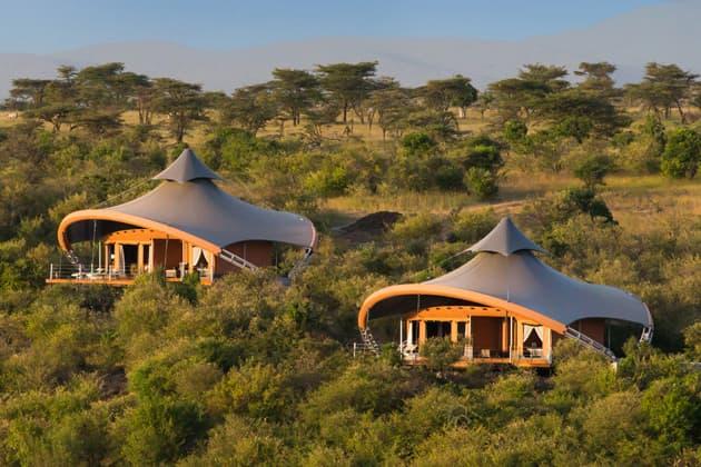 Richard Branson Opens Mahali Mzuri Safari Camp in Kenya
