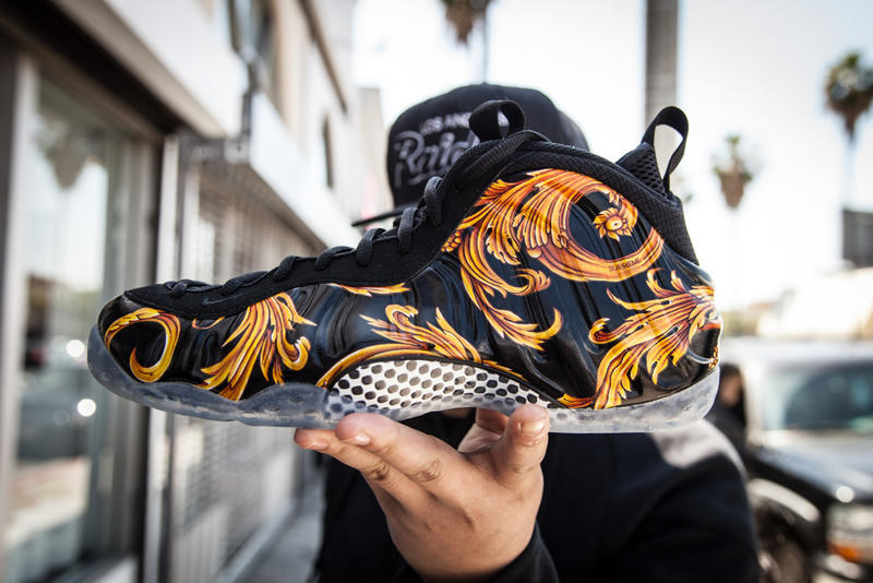 8bce72432f3 The Nike Foamposite Campout at Supreme Los Angeles