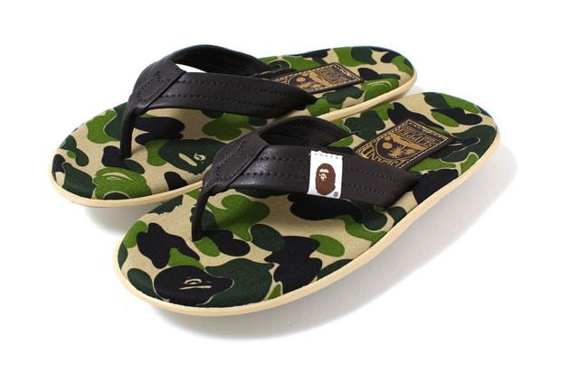 daa761528d4c A Bathing Ape x Island Slipper ABC Thong Sandals