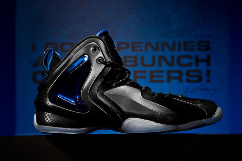 "780634c2d11 A Closer Look at the Nike Air Foamposite One   Lil Penny Posite ""Shooting  Stars"" Pack"
