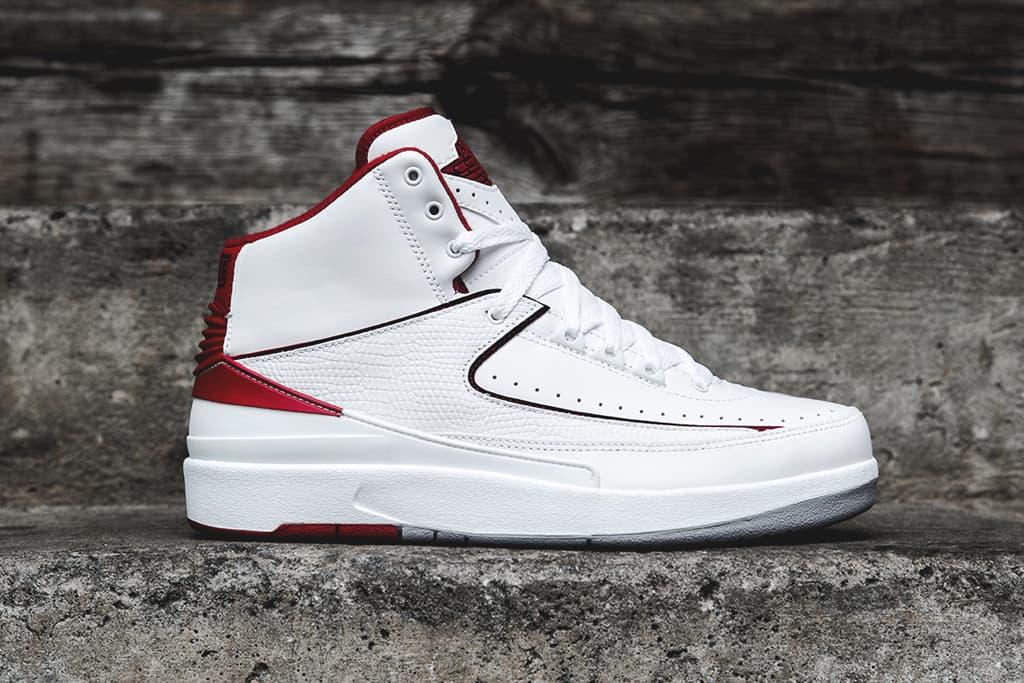 Air Jordan 2 Retro White/Red