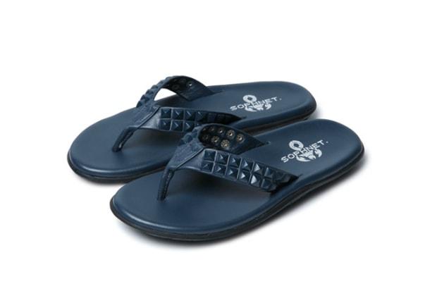 f1cb2c5447f6 SOPHNET. x Island Slipper Stud Sandals
