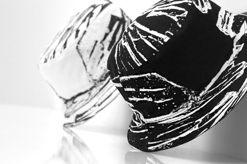 Los Angeles imprint Stampd presents its bold new Glass Printed Bucket Hats  from its Spring Summer 46741b0683e