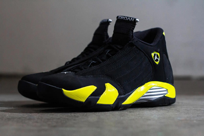 "the latest db833 62d77 A Closer Look at the Air Jordan 14 Retro ""Thunder"" 