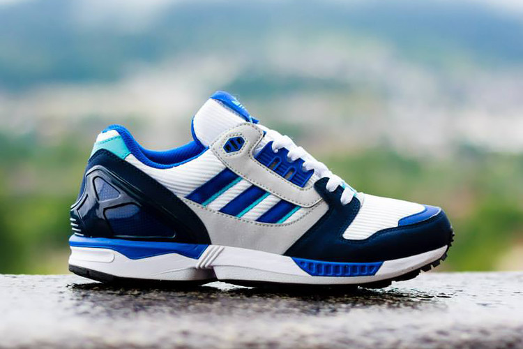 huge discount bfd9b c9c4e adidas Originals ZX 8000 White Royal Navy