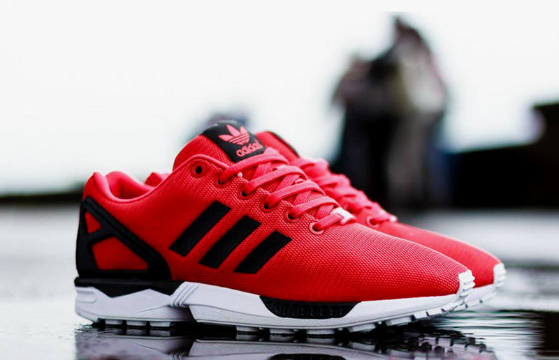 a572fcaf6d73d adidas Originals ZX FLUX Red Black. After giving word to a new ZX Flux pack  on a weekly basis