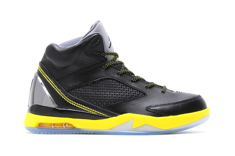 5a31f56ad58 Air Jordan Flight Remix Black Yellow Cool Grey