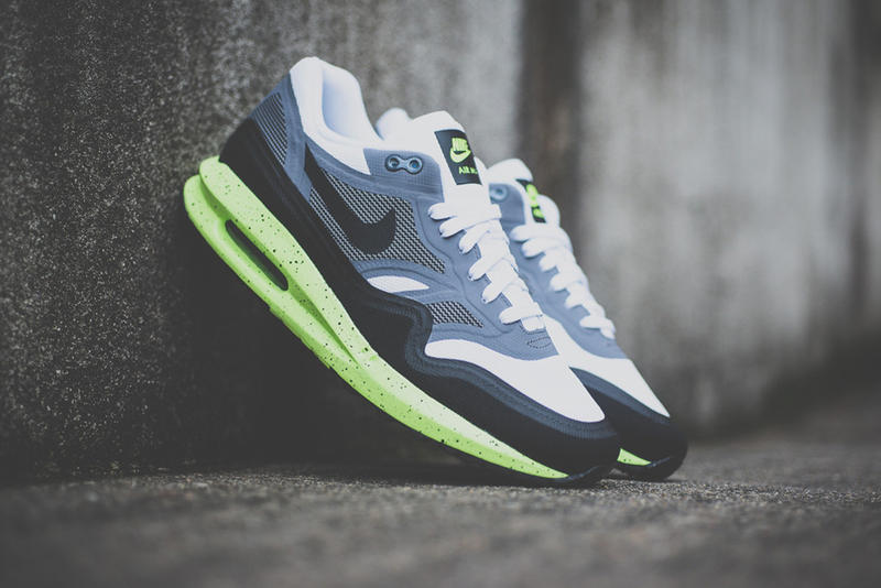 finest selection 5ddbf a2ccb Nike is back with another Air Max Lunar1, this time featuring a bright volt  lunar sole. The shoe