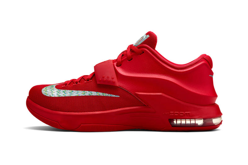 "6f0db24667bd Nike Debuts Several More KD7 Colorways. After getting a look at both the  ""July 4th"" and ""35"