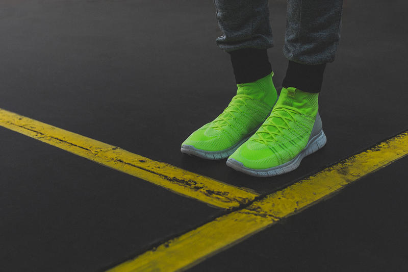 """size 40 480fc d5db9 A Closer Look at the Nike Free Mercurial Superfly HTM """"Volt ..."""
