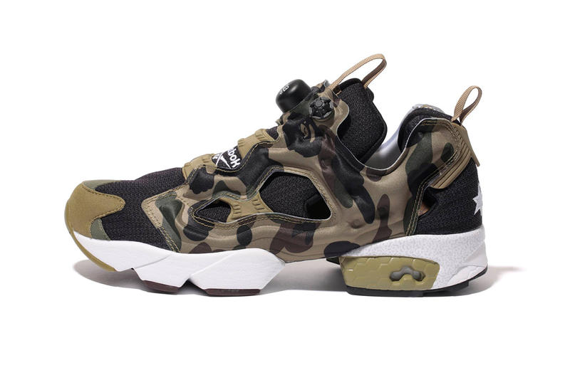 """A First Look at the A Bathing Ape x mita sneakers x Reebok Instapump Fury OG  """"Camo"""" a2f70f057"""
