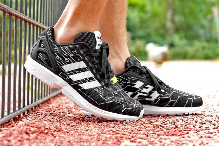 adidas Originals ZX Flux Weave Black Running White Onix 91bbdce23